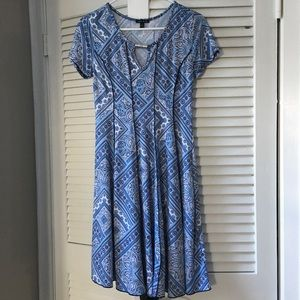 Sami & Joe blue dress!